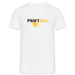 PAINTBALL - T-shirt Homme
