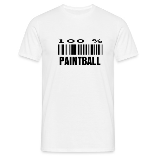 100% PAINTBALL - T-shirt Homme