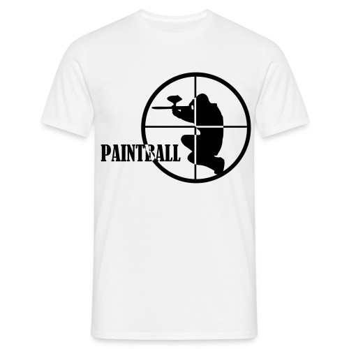 PAINTBALL CIBLE - T-shirt Homme