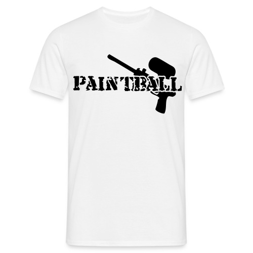 PAINT BALL OVER - T-shirt Homme
