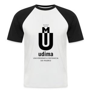Camiseta béisbol manga corta hombre- UDIMA - Camiseta béisbol manga corta hombre