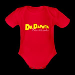 Dadadada - Body bébé bio manches courtes