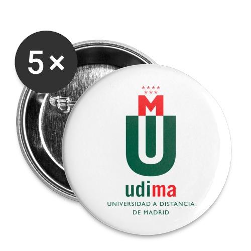 Chapa 32mm- UDIMA - Paquete de 5 chapas medianas (32 mm)