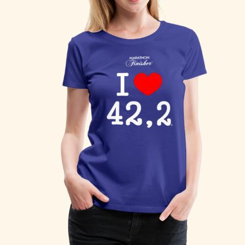 I love 42,2 - Woman - Women's Premium T-Shirt