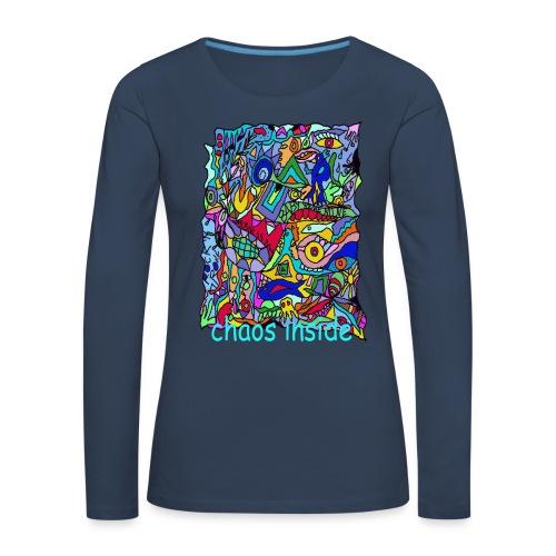 chaos lady - Frauen Premium Langarmshirt