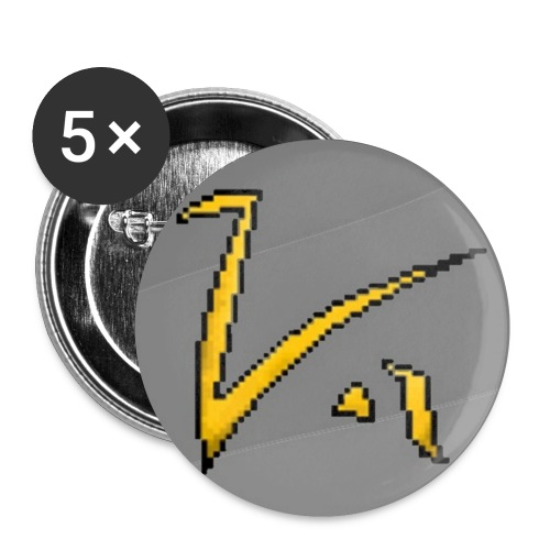 5 x Koyannis Badges - Buttons small 25 mm