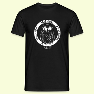 Night Owl up all night - Men's T-Shirt