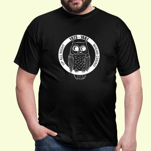 Night Owl up all night - Men's T-Shirt