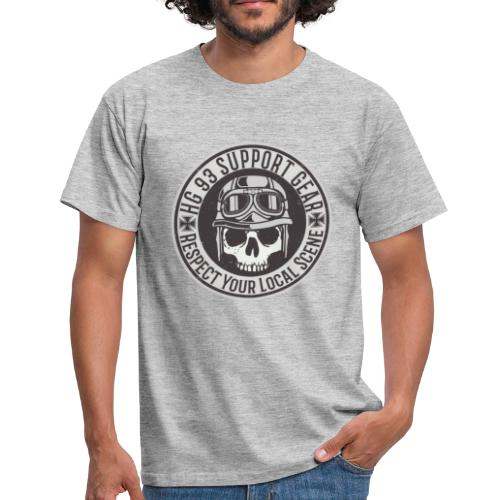 Respect Your Local Scene - Männer T-Shirt