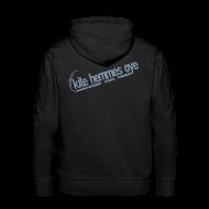 Sweat-shirts ~ Sweat-shirt à capuche Premium pour hommes ~ Hoodie Black & Grey