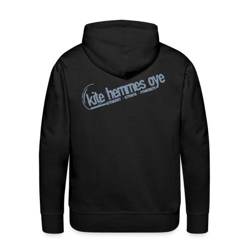 Hoodie Black & Grey - Sweat-shirt à capuche Premium pour hommes