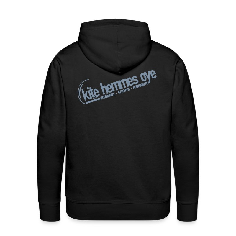 Hoodie Black & Grey - Sweat-shirt à capuche Premium pour hommes