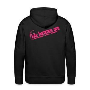 Hoodie Black & Pink - Sweat-shirt à capuche Premium pour hommes