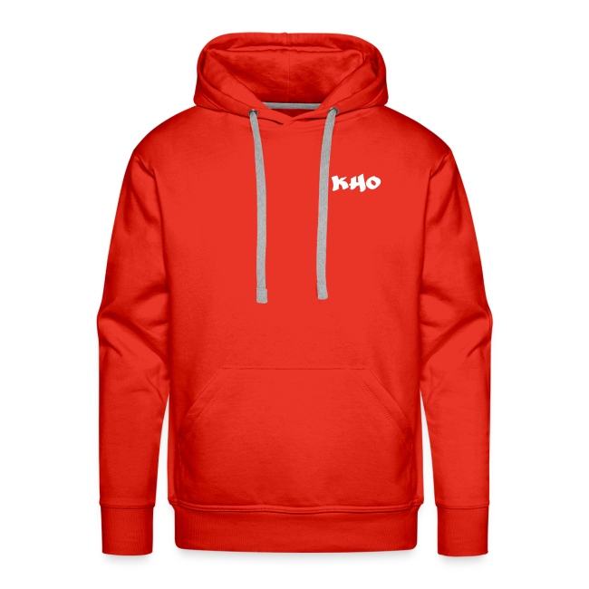 Hoodie Red & White