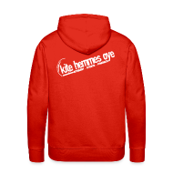 Sweat-shirts ~ Sweat-shirt à capuche Premium pour hommes ~ Hoodie Red & White