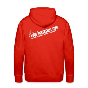 Hoodie Red & White - Sweat-shirt à capuche Premium pour hommes