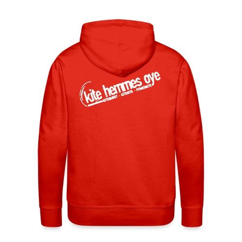 Hoodie Red & White - Sweat-shirt à capuche Premium pour hommes