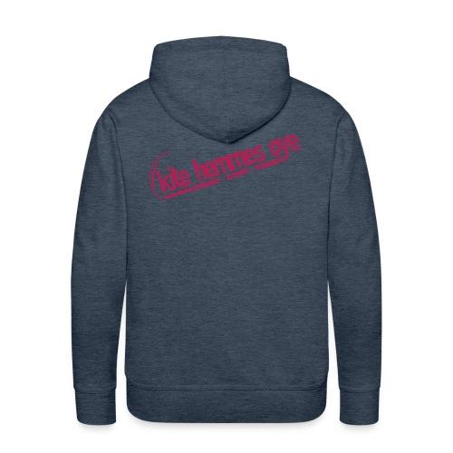 Hoodie Green & Pink - Sweat-shirt à capuche Premium pour hommes