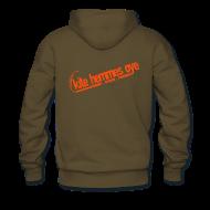Sweat-shirts ~ Sweat-shirt à capuche Premium pour hommes ~ Hoodie Brawn & Orange