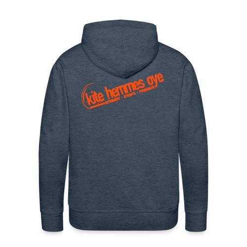 Hoodie Brawn & Orange - Sweat-shirt à capuche Premium pour hommes
