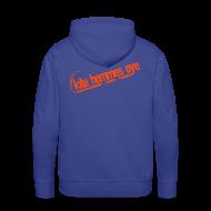 Sweat-shirts ~ Sweat-shirt à capuche Premium pour hommes ~ Hoodie Blue & Orange