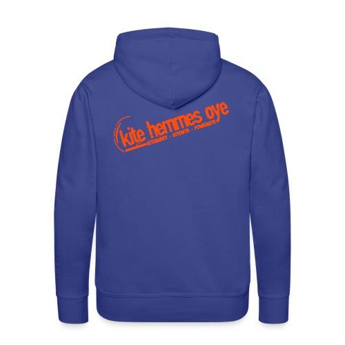Hoodie Blue & Orange - Sweat-shirt à capuche Premium pour hommes