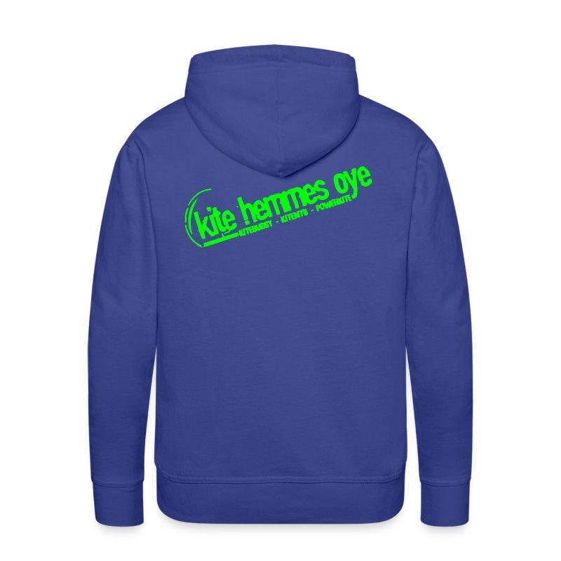 Hoodie Blue & Green - Sweat-shirt à capuche Premium pour hommes