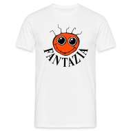 T-Shirts ~ Men's T-Shirt ~ Fantazia Smiley Front/Dancing Man Reverse
