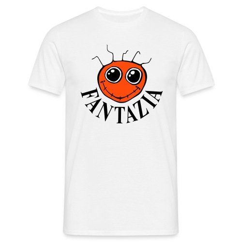 Fantazia Smiley Front Dancing Man Reverse - Men's T-Shirt