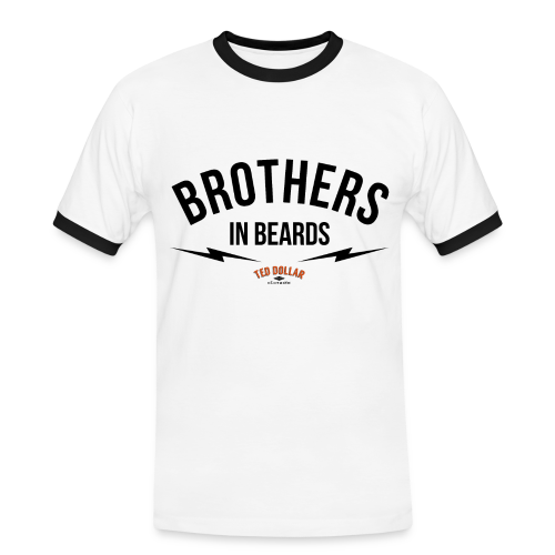 Brothers In Beards - T-shirt contrasté Homme