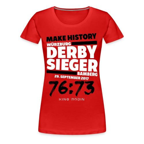 Derbysieger - Frauen Premium T-Shirt