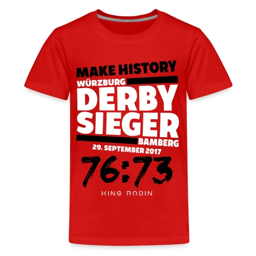Derbysieger - Teenager Premium T-Shirt