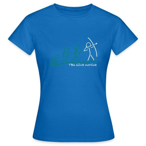Vereinshirt TBs silva nortica 'Evolution' Flock Damen - Frauen T-Shirt