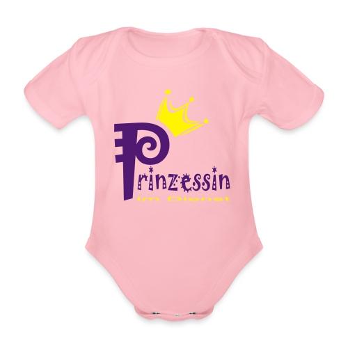 B: Prinzessin im Dienst - Baby Bio-Kurzarm-Body
