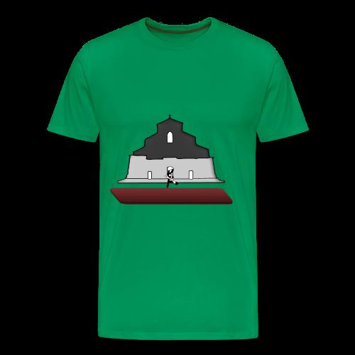 Pope goes to Bologna - T shirt uomo - Maglietta Premium da uomo