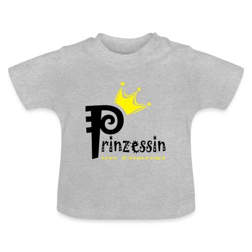 B: Prinzessin im Dienst - Baby T-Shirt
