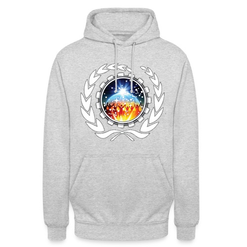 Synthesi... Blacklight Blue - Unisex Hoodie