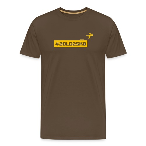 T-shirt skate premium Yellow Logo - Men's Premium T-Shirt