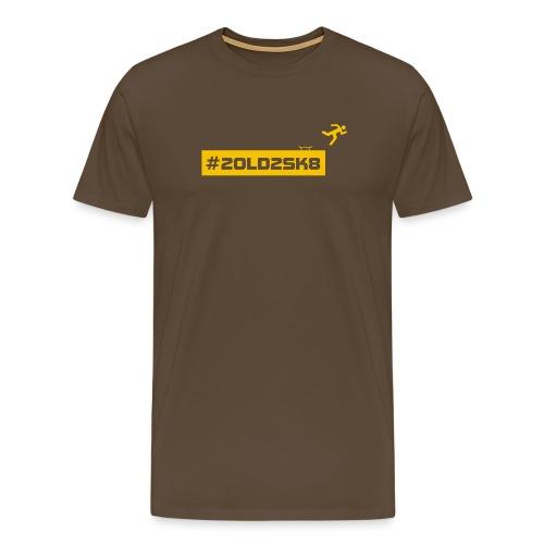 T-shirt skate premium Yellow Logo - Men's Premium T-Shirt