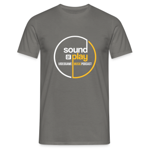 Sound of Play Graphite Grey - Men's T-Shirt