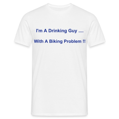 Biking Problem - Men's T-Shirt