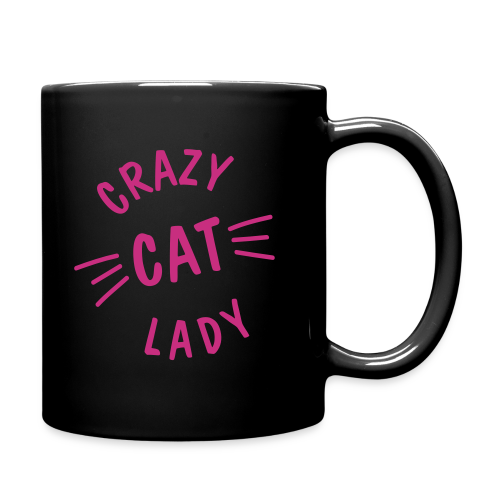 Crazy Cat Lady - Tasse einfarbig
