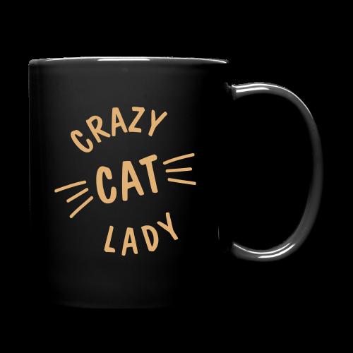 Crazy Cat Lady - Tasse einfarbig