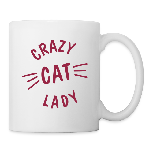 Crazy Cat Lady - Tasse