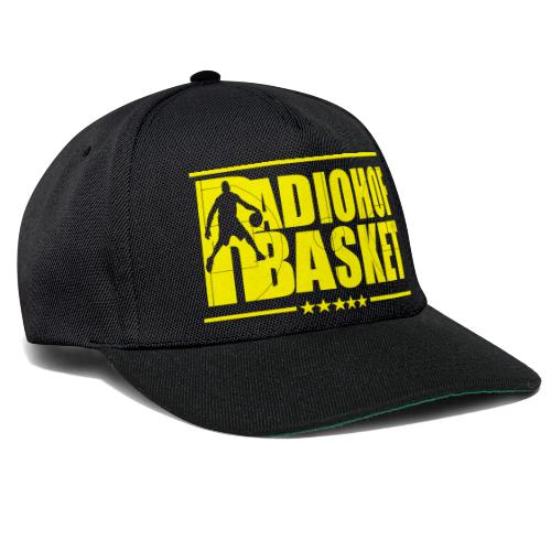 Snapback Radio HOF Black Yellow - Snapback Cap