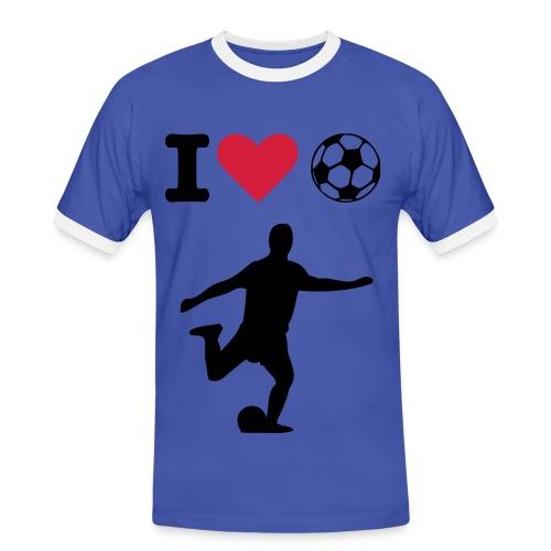 Football Love - Men's Ringer Shirt