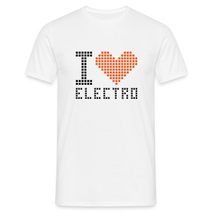 I LOVE ELECTRO - T-shirt Homme