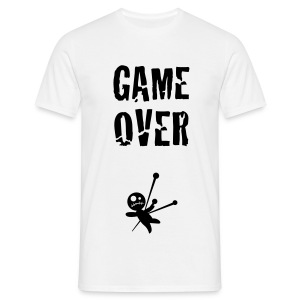 GAME OVER BLACK - T-shirt Homme