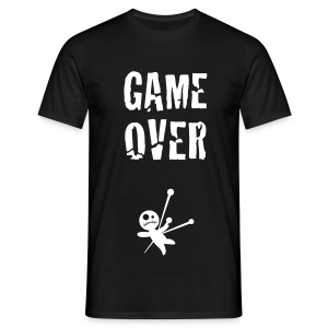 GAME OVER WHITE - T-shirt Homme