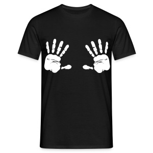 HANDS WHITE - T-shirt Homme